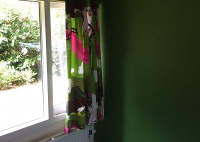 Vakantiehuis Drenthe | Slaapkamer met eenpersoonsbed