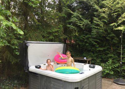 Lekker spelen en bubbelen - vakantiehuis Drenthe