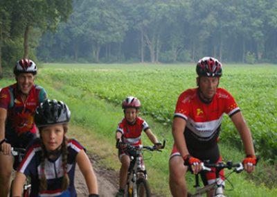 mountainbike 2 - Camping de Reeenwissel in Drenthe