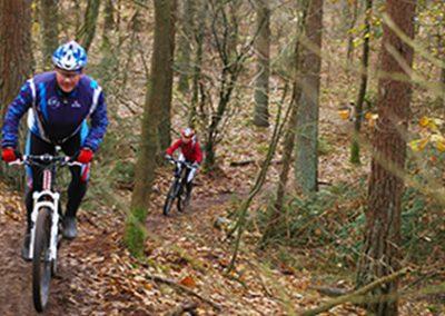 mountainbike - Camping de Reeenwissel in Drenthe